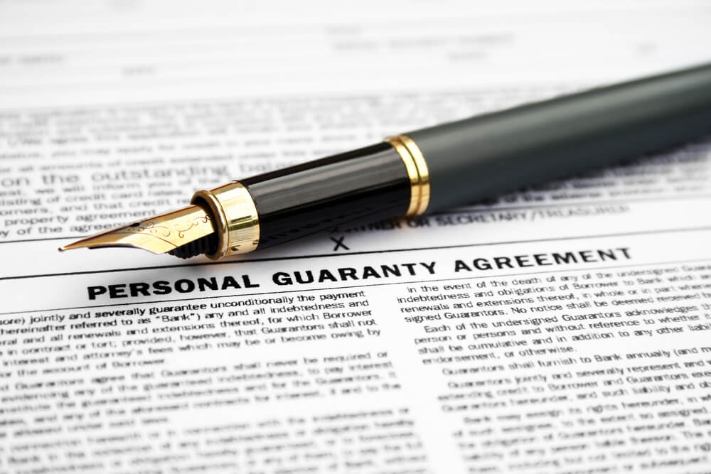 Personal Guarantees